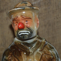 Emmett Kelly Beam Decanter Bottle