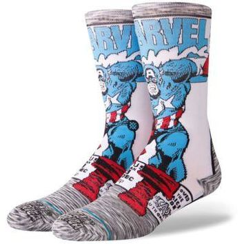 STANCE CAPTAIN AMERICA COMIC SOCK