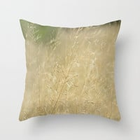 Decorative Throw Pillow Cover - different sizes to Choose From, Square, Rectangular, Double-sided print, Indoors, Outdoors, Abstract, Beige