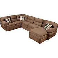 Lucerne Chocolate 3 Pc Sectional