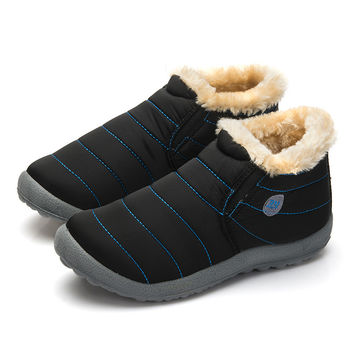 Waterproof Warm Fur Inside Snow Boot