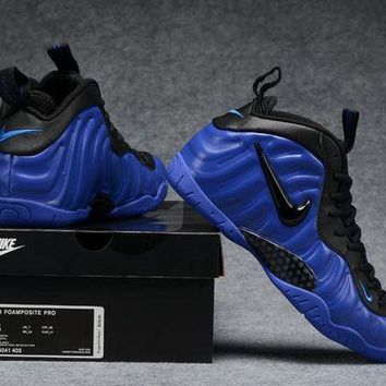 DCCKD9A Air Foamposite Pro Royal Blue/Black Shoe