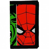 Marvel Comics Avengers Age of Ultron 3D Velcro Trifold Wallet