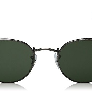 Ray-Ban RB3447 002 50-21 Round Metal