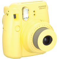 FUJIFILM 16273441 Instax(R) Mini 8 Instant Camera (Yellow)