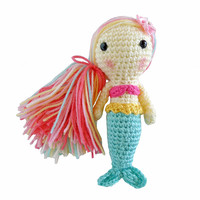 Toy Mermaid Doll