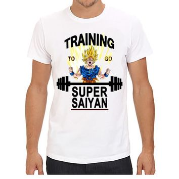 Dragonball Z Goku Training To Go Super Saiyan T-Shirt
