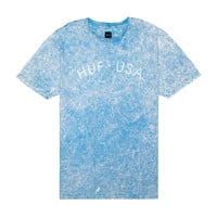 HUF - HUF USA WASHED TEE // LIGHT BLUE