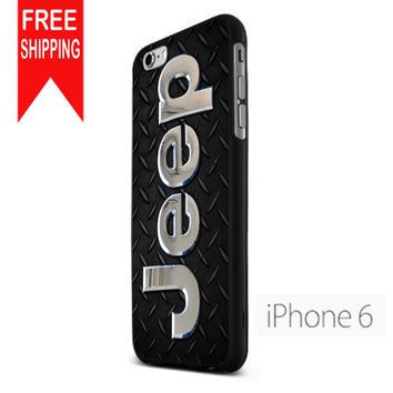 Jeep Personalized NN iPhone 6 Case