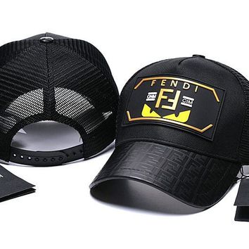 FENDI Golf Baseball Cap Hat
