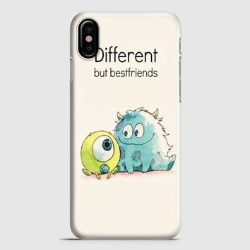 Monster Inc Best Friends iPhone X Case