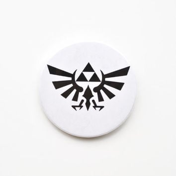 "Legend of Zelda Royal Crest 2.25"" Button"