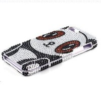 Panda Rhinestone Hard Case Snap On Diamond Cover For Apple iPhone 5