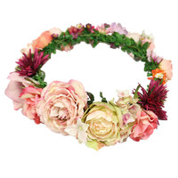 **STATEMENT FLOWER GARLAND BY ORELIA