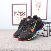 """Nike Air Max 2019"" Unisex Casual Fashion Multicolor Rambler Air Cushion Running Shoes Couple Sneakers"