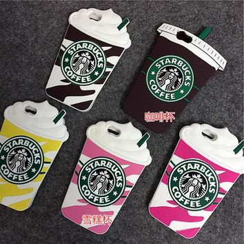 Starbuck Coffee Cup Phone Cases For iPhone 4 4S 5 5S SE 6 6S 7 For Samsung Galaxy S3 S4 S5 S6 S7 Edge Plus