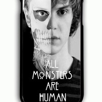 iPhone 6 Plus Case - Rubber (TPU) Cover with American Horror Story All Monsters are Human Rubber Case Design