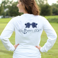 Southern Darlin' – Classic White Long Sleeve