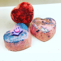 BombaBath Marbled Heart Bundle (3Pc)