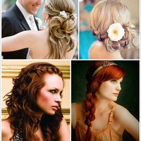My Style Pinboard / Wedding Hairstyle Inspiration | Aisle-Candy.com Blog