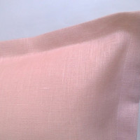 "linen cushion / pillow cover 19,7"" x 19,7"" inch / 50 x 50 cm pink"