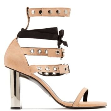 X Self Portrait Leya suede sandals | Robert Clergerie | MATCHESFASHION.COM US