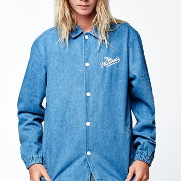 The Hundreds Bennet Denim Coaches Jacket - Mens Jacket - Blue