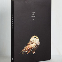 Owls By the Flight of the Moon Journal by Chronicle Books from ModCloth