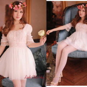 025 Kawaii Trendy Princess Cute Sweet Dolly Gothic Punk Lolita Lace Dress