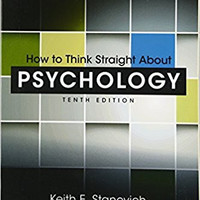 How to Think Straight About Psychology (10th Ed)--Brand New