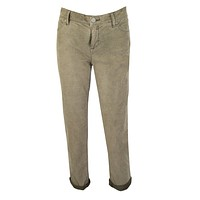 Roller Cropped Corduroy Pants