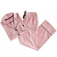 Jessie Steele Pajamas Boyfriend Deco Dot