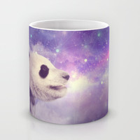 My Thoughts are Stars • (Panda Stargazer) Mug by soaring anchor designs ⚓ | Society6