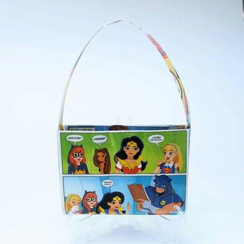 DC Superhero Girls Purse, Little Girls Handbags, Cute Bags For Girls