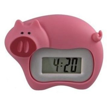 Whimsy Alarm Clock - Pig