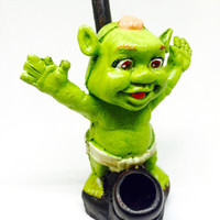 Resin Pipe - Baby Shrek