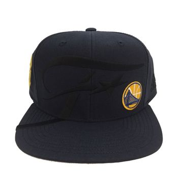 GOLDEN STATE WARRIORS NAVY 2016 FINALS ADIDAS SNAPBACK HAT LIMITED EDITION CAP