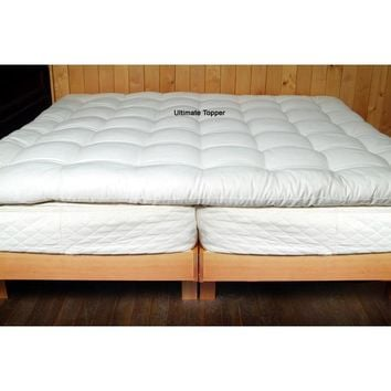 Quilted Mattress Topper (Crib, Twin, Full, Queen, King) | Holy Lamb Organics