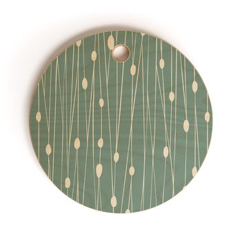 Heather Dutton Entangled Cutting Board Round