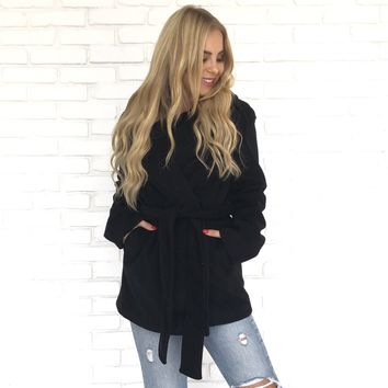 In The City Jacket in Black
