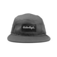 OG Script 5-Panel Fleet Cap in Grey