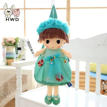 2017 Mayfair NEW Cartoon Bags Kid Doll Plush Backpack Toy Lovely Flower Fairy Children Shoulder Bag Dream Cute HWD Plush Stuffed