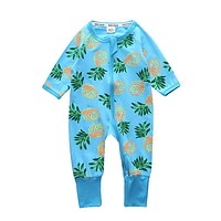 Baby Boy Clothes Coveralls Toddler girl's clothing baby pajamas cotton Baby Clothing One Piece romper