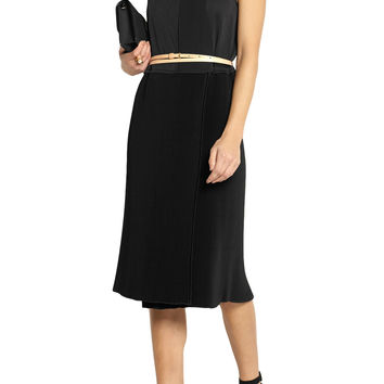 Pleated crepe dress | Victoria Beckham | US | THE OUTNET