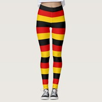 Leggings with flag of Germany