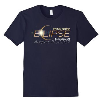 Total Solar Eclipse 2017 Columbia Missouri T-Shirt