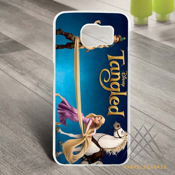 disney pixar tangled Custom case for Samsung Galaxy