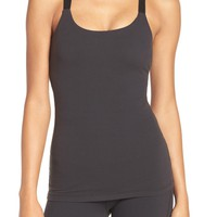 Beyond Yoga Polka Dot Mesh Inset Camisole | Nordstrom