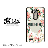 Panic At The Disco Floral For LG G4 Case Phone Case Gift Present YO