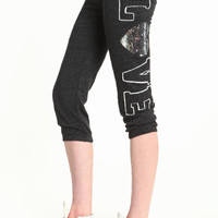 SPARKLING LOVE CAPRI PANTS